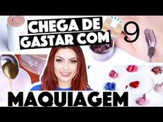 CRIANDO KIT DE MAQUIAGEM CASEIRA SEM GASTAR NADA #9    KIM ROSACUCA - YouTube