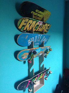 Skateboard Rack. Wall Mounted Nice Design