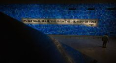 """Trying to Remember the Color of the Sky on That September Morning"" by Spencer Finch, September 11, 2001 memorial."