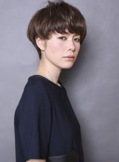 フレンチ2wayショート 【CIRCUS by BEAUTRIUM】 http://beautynavi.woman.excite.co.jp/salon/20978 ≪short・hairstyle・ショート・ヘアスタイル・髪形・髪型≫