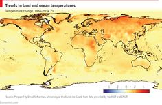 In graphics: climate change: The state of the planet #innovation
