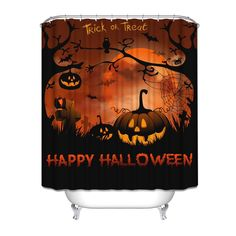 halloween shower curtains gifts for home decor lovers