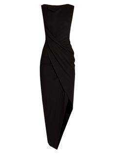 Vian asymmetric draped jersey dress | Vivienne Westwood Anglomania | MATCHESFASHION.COM