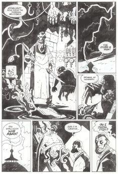 Squid of Man p.2 Comic Art
