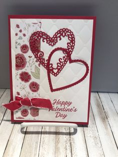 More Swap Cards - Frühjahr Stampin'up - halloween cards Valentine Love Cards, Happy Valentines Day, Valentine History, Saint Valentine, Stamping Up Cards, Heart Cards, Halloween Cards, Creative Cards, Anniversary Cards