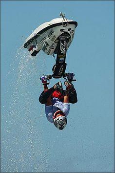 ♂ It's a man's world Jet ski - whoa