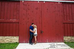 Engagement Session at the Riverview Farmstead