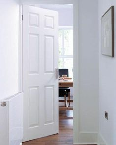 Moulded Shapeline Superior Smooth 6P #paneldoors & White Primed Suffolk #whiteprimeddoors | Puertas | Pinterest ... pezcame.com