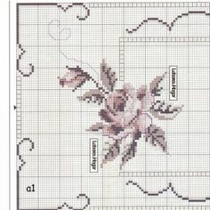 ru / Foto nº 4 - 7 - irisha-ira Cross Stitch Heart, Cross Stitch Borders, Modern Cross Stitch Patterns, Cross Stitch Flowers, Cross Stitch Designs, Cross Stitching, Cross Stitch Embroidery, Embroidery Patterns, Hand Embroidery