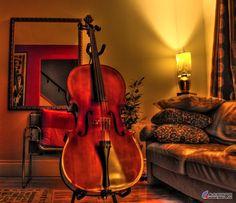 A Stradivarius Cello......these are amazing instruments