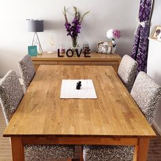 Oakdale Natural Solid Oak Dining Table From Furniture Land