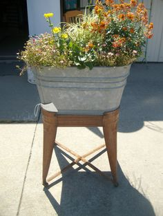 336 Best Wash Tub Ideas Images In 2019 Wash Tubs Gardening