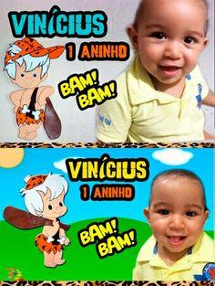 Vinícius e o Bam Bam - 1 aninho