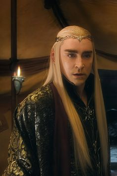 #LeePace is mesmerizing as #Thranduil in #TheBattleOfTheFiveArmies.