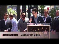 22.04.2013 - Backstreet Boys - Walk of Fame Ceremony