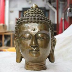 Buddha Head Statues symbolise disembodiment. A three dimensional oval crown or flame on the top of the head the Ushnisha represents the attainment of the Buddha's enlightenment and his spiritual guidance. Buddha Heads radiate feelings of peace and serenity. Find more at our website link in BIO. #buddha #buddhastatue #buddhahead #homedecor #spirithouse #spirithome #spiritual #spirit #spirituality #spiritualist