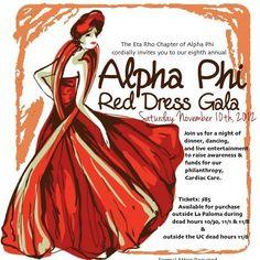 688db6dff48 Alpha Phi - Eta Rho - Red Dress Gala Woman Dresses