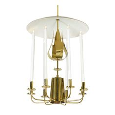 Rare Chandelier By Tommi Parzinger | From a unique collection of antique and modern chandeliers and pendants  at http://www.1stdibs.com/furniture/lighting/chandeliers-pendant-lights/