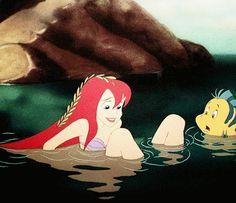 """Just look at her.  On legs.  On human legs"", little mermaid"