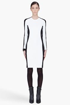 Optical ilusion 3.1 PHILLIP LIM Long Sleeve Shadow Dress