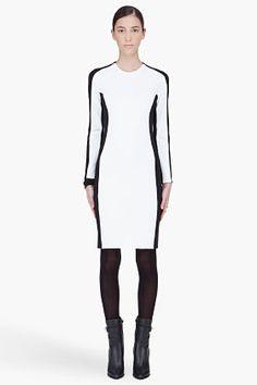Optical ilusion 3.1 PHILLIP LIM Long Sleeve Shadow Dress