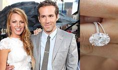 Love Blake Lively's vintage oval shaped wedding ring.