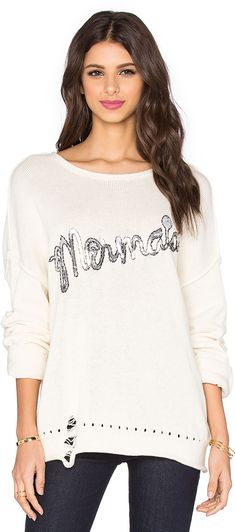 Wildfox Couture Mermaid Sweater