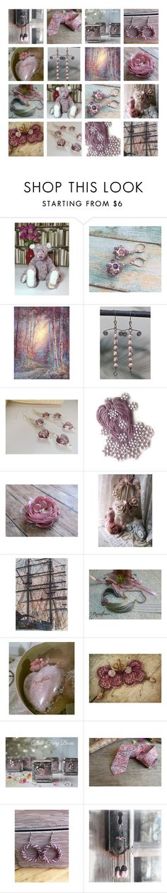 A fashion look from October 2016 featuring pink jewelry, copper jewelry and bohemian jewelry. Browse and shop related looks. Pretty In Pink, Lavender, Romance, Polyvore, Gifts, Stuff To Buy, Etsy Shop, Design, Women