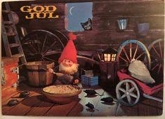 Pent-Stp.Kjernmoen Norwegian Christmas, Troll, Christmas Cards, Auction, Manga, Illustration, Painting, Art, Christmas E Cards