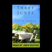 Three Junes- is a vividly textured symphonic novel set on both sides of the Atlantic during three fateful summers in the lives of a Scottish family.