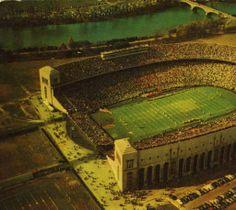 Aerial View of the Ohio State University Stadium :: Columbus in Historic Photographs