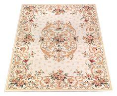 Tappeto aubusson in viscosa melodie 85x150 cm Colore avorio multicolor  ad Euro 29.00 in #Webtappeti srl #Textilesrugs rugs rugs