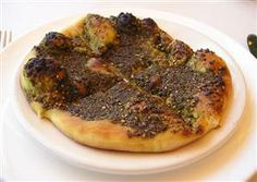 Manakish recipe - now that I have more Za'atar than I know what to do with.