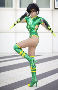 Orchid from Killer Instinct; by AlexysCosplay