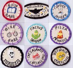 merit badges by Hanecdote