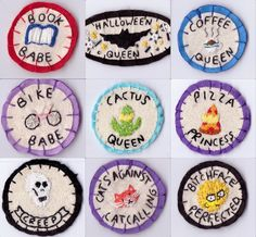 merit badges by Hanecdote