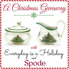 A Christmas Giveaway from Everyday is a Holiday & Spode @Chris Cote Nicholson Group US