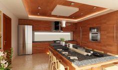 RESIDENCIA SINALOA: Cocinas de estilo moderno por OLLIN ARQUTIECTURA
