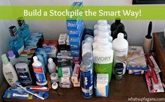 build a stockpile