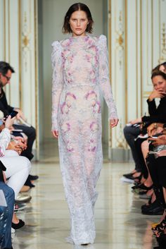 Sfilata Francesco Scognamiglio #Milano - #Collezioni Primavera Estate 2014 - #Vogue #mfw #ss2014 #FrancescoScognamiglio