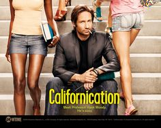 Showtime pushes the limits of TV with provacative shows. Californication shows the life of one man who knew how to write, a wife and kid, yet he takes down any girl that comes his way.  http://www.youtube.com/watch?v=gQ7yaQhXJAI