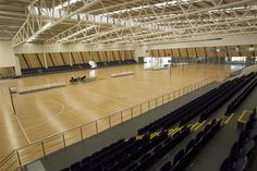 Internal view of the State Netball Centre