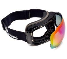 90fb1a0de883 Odoland Snow Ski Goggles with Magnetic Detachable Lens - Double Spherical  Len.