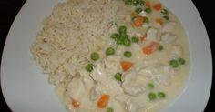 Hühnerfrikassee mit Reis (All-in-one) schnell & lecker, ein Rezept der Kategorie Hauptgerichte mit Fleisch. Mehr Thermomix ® Rezepte auf www.rezeptwelt.de