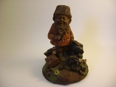 Chip, Tom Clark Gnome, Chocolate Gnome, Retired by MooskerdooGlass on Etsy