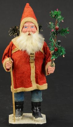 Antique Christmas, Christmas Items, Christmas Images, Candy Containers, Candy Jars, Father Christmas, Christmas Wishes, Stick Candy, Metal Sculptures