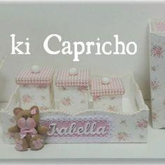 Kit higiene #babygirl #kithigiene #delicados #arteemperolas #artesanal #amooquefaço