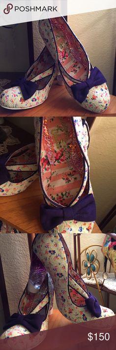 "Selling this Irregular Choice ""Blooming Heel"" never worn on Poshmark! My username is: love2bsexy. #shopmycloset #poshmark #fashion #shopping #style #forsale #Irregular Choice #Shoes"