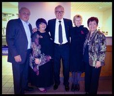 Angelo, Vickie, Klaus, Susan & Candy on New Years Eve  2014