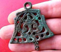 Ancient Viking Bronze Pendant RARE!!!
